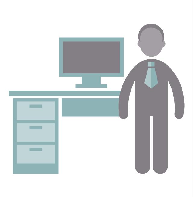 Administrator, administrator, profession icon,