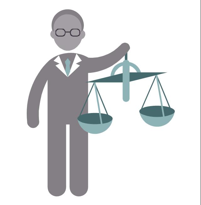 Lawyer, lawyer, profession icon,