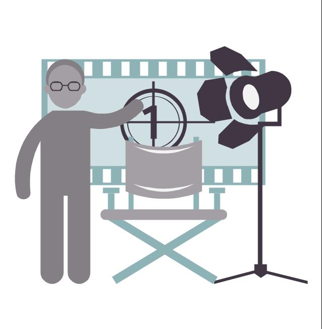 Movie director, movie director,