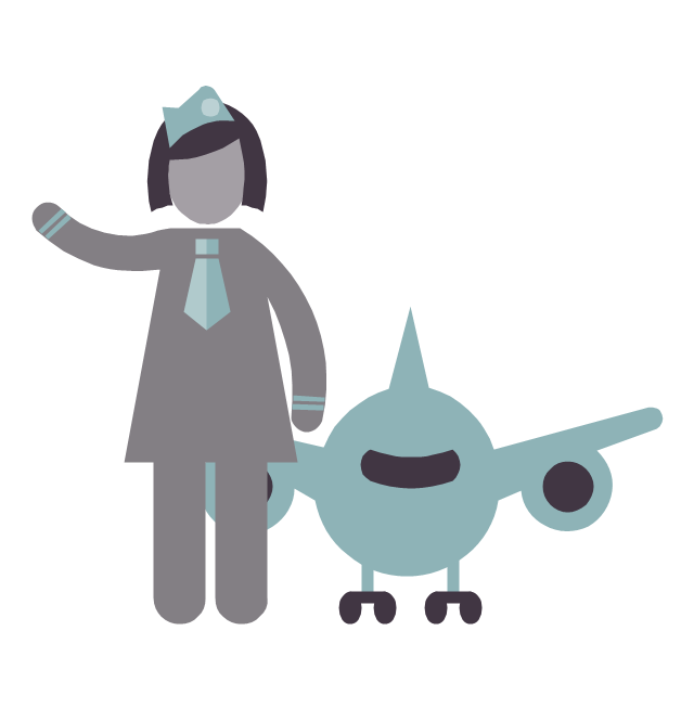 Stewardess, stewardess,