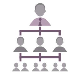 Hierarchical organization, hierarchical organization,