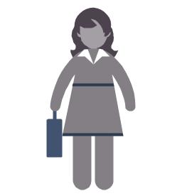 Employee woman, employee woman, businesswoman,