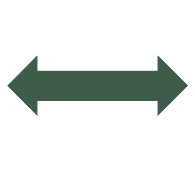 Double headed arrow, double headed arrow,