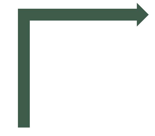 Turn right arrow, turn right arrow,