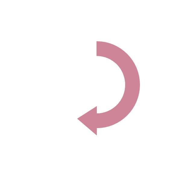 Semicircle arrow, semicircle arrow,
