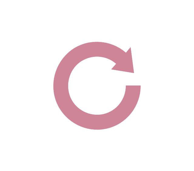 Circular arrow, circular arrow,