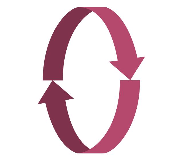 Rotating arrows, rotating arrows,
