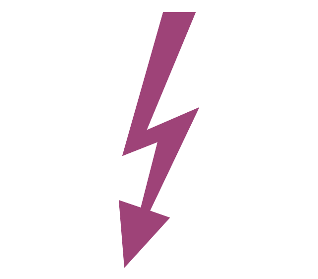 Lightning Arrow - Free arrows icons