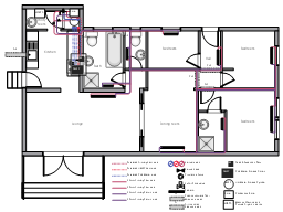 Plumbing Plan Of A House