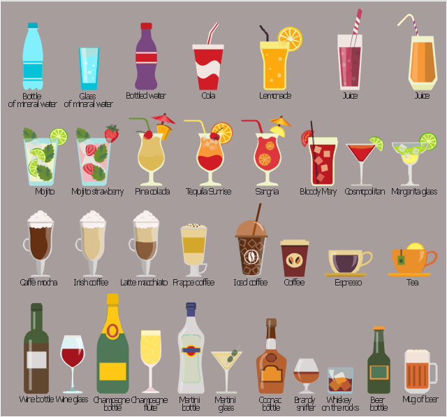 Beverages clip art, wine glass, red wine, goblet of wine, wine bottle, whisky with ice cubes, whiskey on the rocks, Old Fashioned glass, lowball glass, rocks glass, tequila sunrise glass, tequila sunrise cocktail, hurricane glass, ice cubes, drinking straw, tea, slice of lemon, teacup, saucer, snifter glass, brandy snifter, cognac glass, balloon, sangria glass, sangria cocktail, hurricane glass, drinking straw, pina colada cocktail, pina colada, hurricane glass, drinking straw, mug of beer, glass of beer, mojito strawberry, highball glass, mojito cocktail, highball glass, martini glass, cocktail glass, martini bottle, lemonade glass, drinking straw, juice, collins glass, drinking straw, juice glass, drinking straw, irish coffee, irish coffee mug, irish coffee glass, iced coffee, paper glass, drinking straw, glass of mineral water, highball glass, frappe coffee, glass mug, greek frappe, cafe frappe, espresso coffee, expresso coffee, glass espresso cup, cosmopolitan glass, cosmopolitan cocktail, cosmo cocktail, cocktail glass, cola, plastic glass, drinking straw, cognac bottle, brandy, coffee plastic glass, champagne flute, champagne bottle, caffè mocha, mocaccino, irish coffee mug, irish coffee glass, bottled water, water bottle, bottle of water, bottle of mineral water, beer bottle, Margarita glass, Margarita cocktail, cocktail glass , Latte macchiato, irish coffee mug, irish coffee glass, Bloody Mary glass, Bloody Mary cocktail, drinking straw, ice cubes,