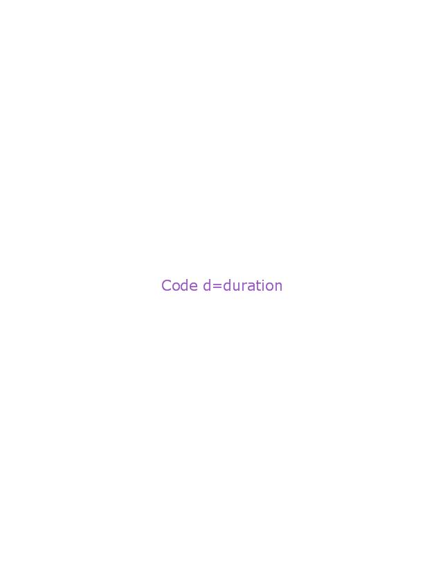 Duration observation, duration observation,