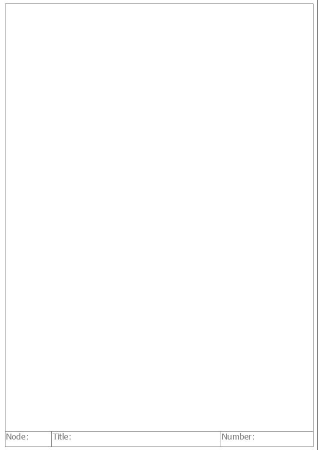 Diagram form, IDEF diagram form,