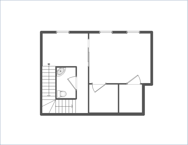 Home floor plan template for Window design template