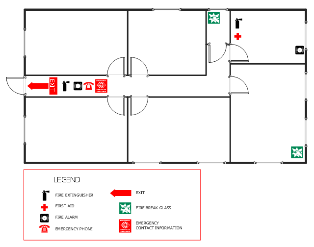 Office fire and emergency plan for Fire evacuation plan template for office