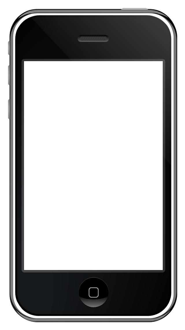 iPhone GUI template, iPhone case,