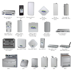 Alvarion and Cisco telecommunication network equipment,