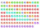 Chemical element icons, zirconium, Zr, zinc, Zn, yttrium, Y, ytterbium, Yb, xenon, Xe, vanadium, V, uranium, U, ununtrium, Uut, ununseptium, Uus, ununquadium, Uuq, ununpentium, Uup, ununoctium, Uuo, ununhexium, Uuh, ununbium, Uub, tungsten, W, titanium, Ti, tin, Sn, thulium, Tm, thorium, Th, thallium, Tl, terbium, Tb, tellurium, Te, technetium, Tc, tantalum, Ta, sulfur, S, strontium, Sr, sodium, Na, silver, Ag, silicon, Si, selenium, Se, seaborgium, Sg, scandium, Sc, samarium, Sm, rutherfordium, Rf, ruthenium, Ru, rubidium, Rb, roentgenium, Rg, rhodium, Rh, rhenium, Re, radon, Rn, radium, Ra, protactinium, Pa, promethium, Pm, praseodymium, Pr, potassium, K, polonium, Po, plutonium, Pu, platinum, Pt, phosphorus, P, palladium, Pd, oxygen, O, osmium, Os, nobelium, No, nitrogen, N, niobium, Nb, nickel, Ni, neptunium, Np, neon, Ne, neodymium, Nd, molybdenum, Mo, mercury, Hg, mendelenium, Md, meitnerium, Mt, manganese, Mn, magnesium, Mg, lutetium, Lu, lithium, Li, lead, Pb, lawrencium, Lr, lanthanum, La, krypton, Kr, iron, Fe, iridium, Ir, iodine, I, indium, In, hydrogen, holmium, Ho, helium, He, hassium, Hs, hafnium, Hf, gold, Au, germanium, Ge, gallium, Ga, gadolinium, Gd, francium, Fr, fluorine, F, fermium, Fm, europium, Eu, erbium, Er, einsteinium, Es, dysprosium, Dy, dubnium, Db, darmstadtium, Ds, curium, Cm, copper, Cu, cobalt, Co, chromium, Cr, chlorine, Cl, cerium, Ce, carbon, C, californium, Cf, calcium, Ca, caesium, Cs, cadmium, Cd, bromine, Br, boron, B, bohrium, Bh, bismuth, Bi, berylium, Be, berkelium, Bk, barium, Ba, astatine, At, arsenic, As, argon, Ar, antimony, Sb, americium, Am, aluminium,Al, actinium, Ac,