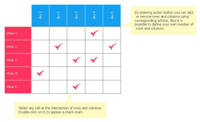 Chore chart template, chore chart,