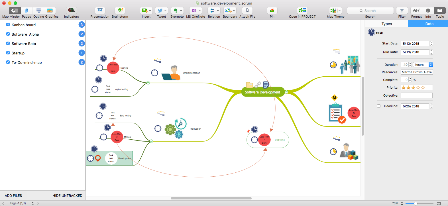 conceptdraw-mindmap-features