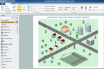 How to Create Local Vehicular Network Concept Diagram with ConceptDraw PRO