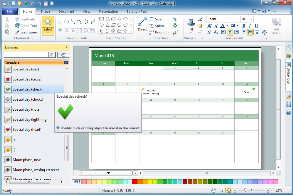 Calendar Design Tool : What i need to get started