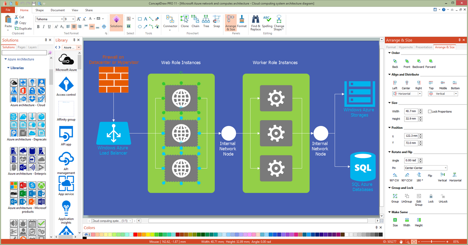 Azure Architecture Solution for Microsoft Windows