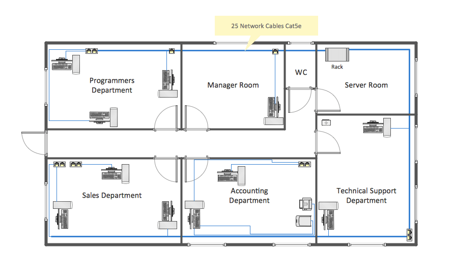 office floor plans network layout floor plans solution