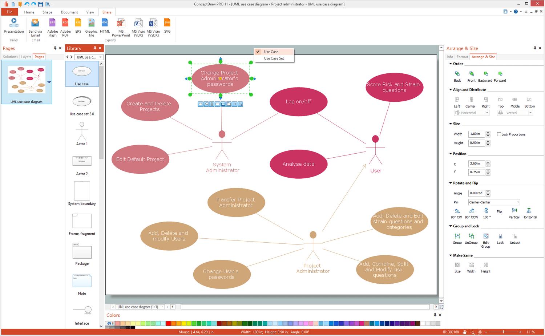 easy uml diagram tool uml diagram help desk rapid uml solution conceptdraw com #6